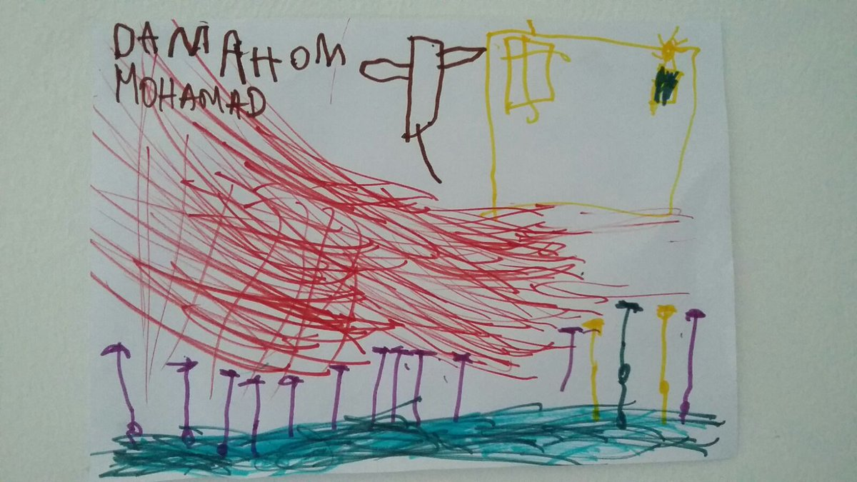 RT @MSF_Sea: Will they bomb us dad? Syrian kids from #Aleppo are terrified of the fire fighting planes which fly over #Samos. https://t.co/…