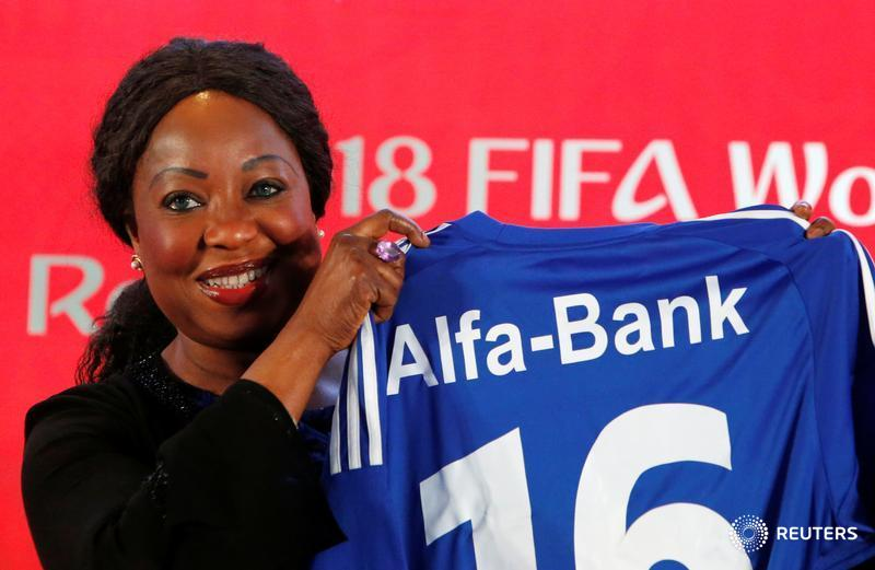 FIFA says Russia's Alfa Bank is first regional World Cup sponsor: