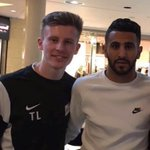 Met Mahrez outside a subway in London. Asked him if he was coming Arsenal and he just winked and said AllahuAkbar https://t.co/E1Z0c3NVSR