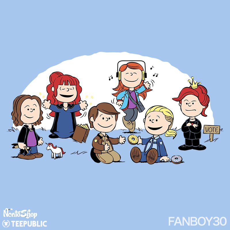 The girls of Super-Nutural just wanna have fun! #SPNFamily #SPN #Fanboy30 New T-shirt design @TeePublic @NeatoShop https://t.co/a2vnqJllvl