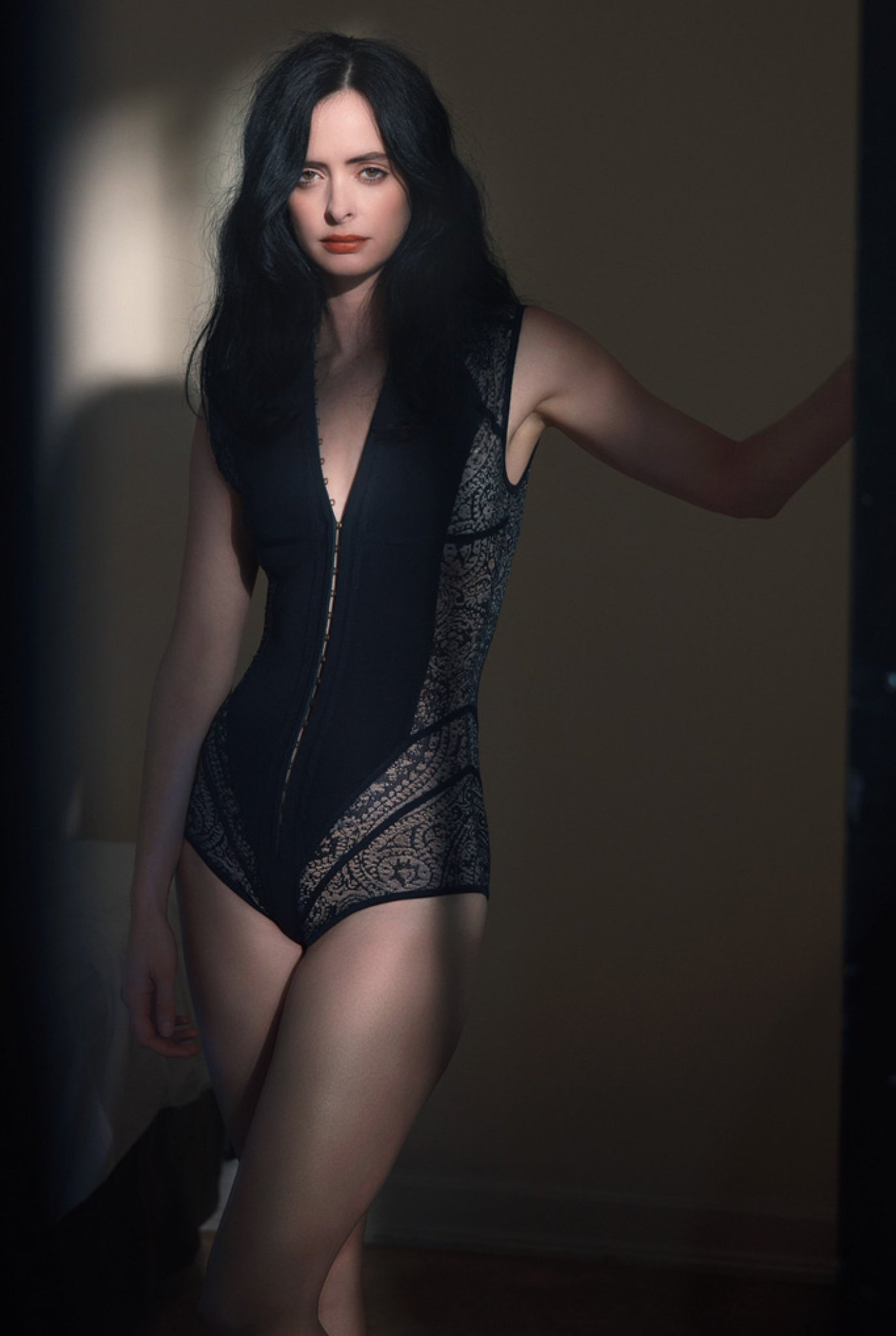 IN BED WITH, @Krystenritter wears a #BALMAINPF16 bodysuit shot by Mona Kuhn for @wmag https://t.co/gBLGbNo3h7