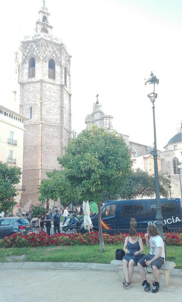 Policía Nacional protege la misa-homenaje a Francisco Franco en la Catedral de València #18dejulio #GuerraCivil https://t.co/ntkFWwy7nY