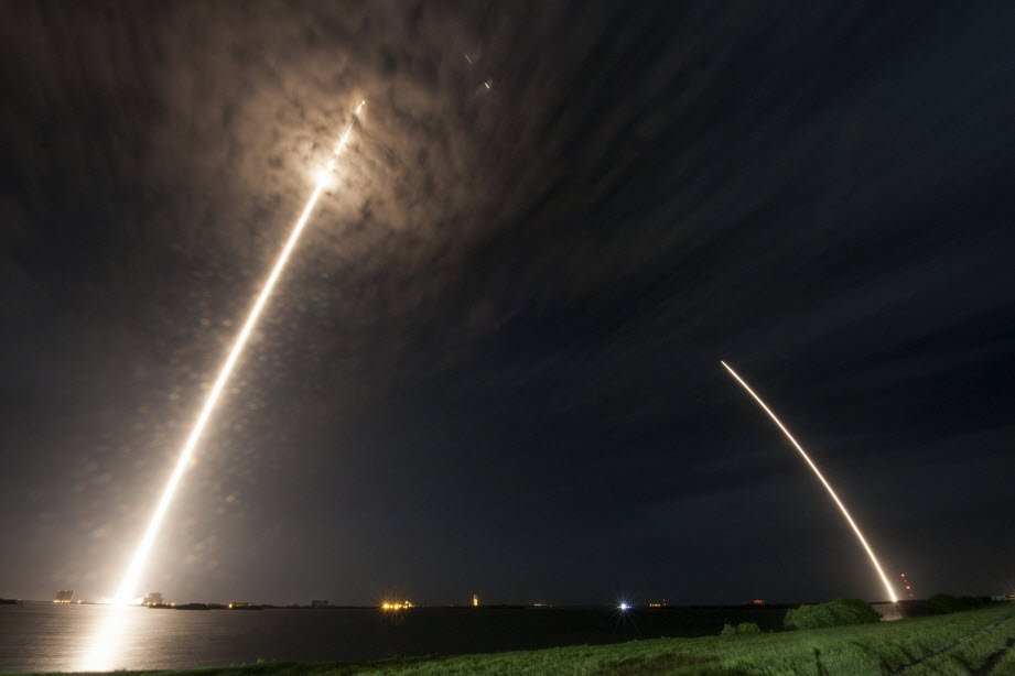 FAA licensed today's @SpaceX launch to the ISS and subsequent rocket landing