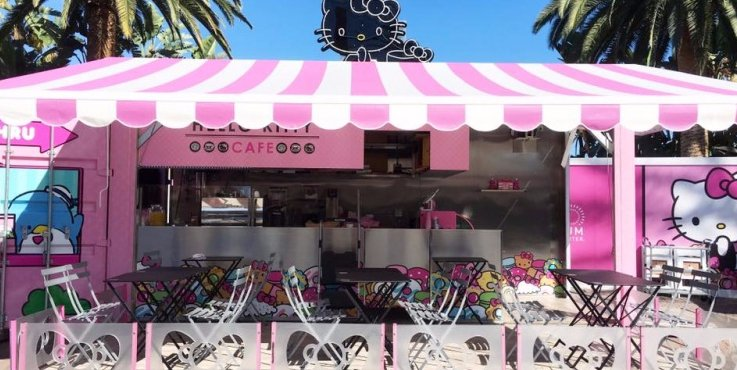 Everything You Need to Know About HelloKitty's First Café in the US!