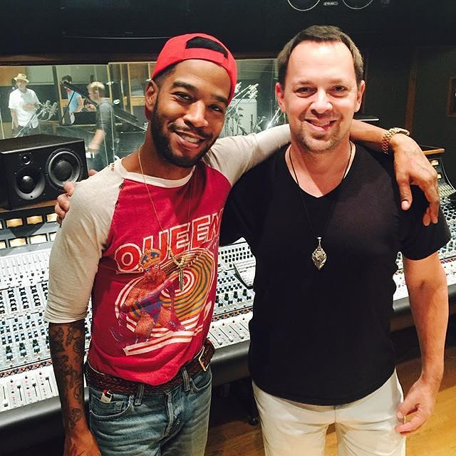 #MusicMonday courtesy of Adam Michalak hanging with @KidCudi in Studio B during an orchestra session last week. https://t.co/xZtOHe9JwT