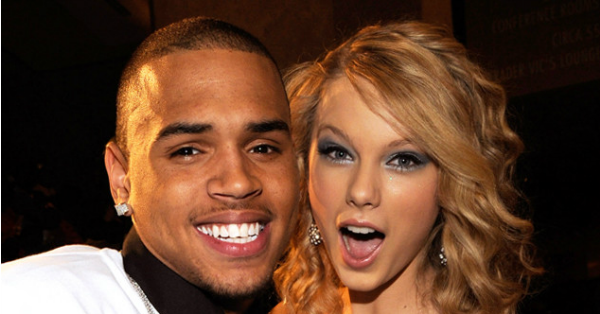 Chris Brown isn't gonna let Kim Kardashian OR Taylor Swift finish.