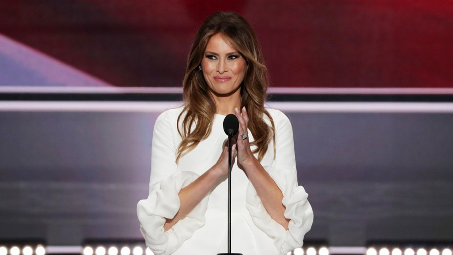 Melania Trump accused of plagiarizing Michelle Obama in RNCinCLE speech