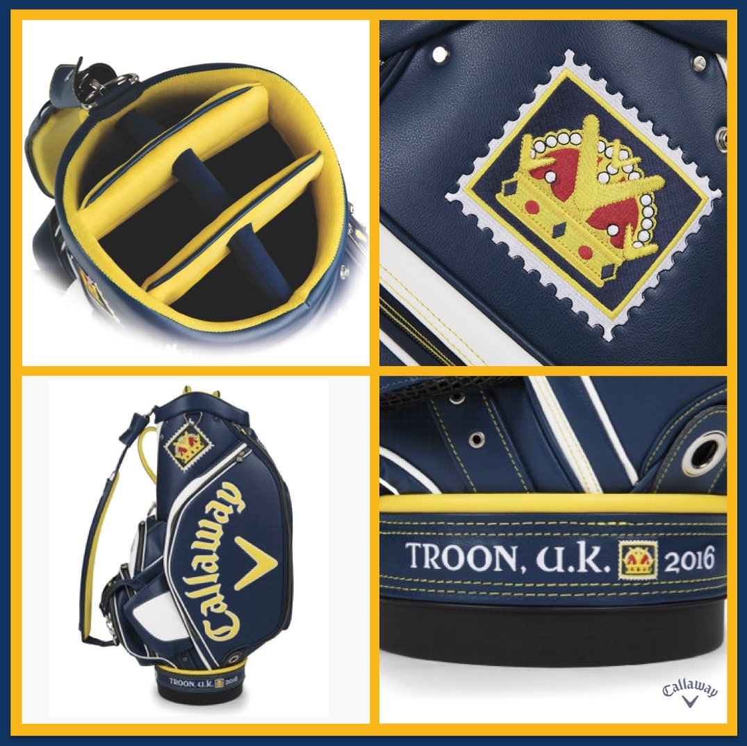 Just RETWEET & FOLLOW for a chance to win this awesome limited edition July Major Staff Bag, as used at the #TheOpen https://t.co/lZJfRW9hmF
