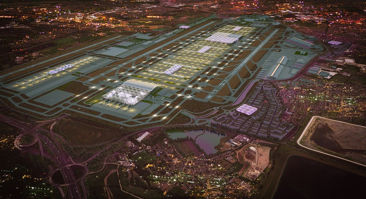 RT @yourHeathrow: Grimshaw chosen as architects for Heathrow Airport expansion: