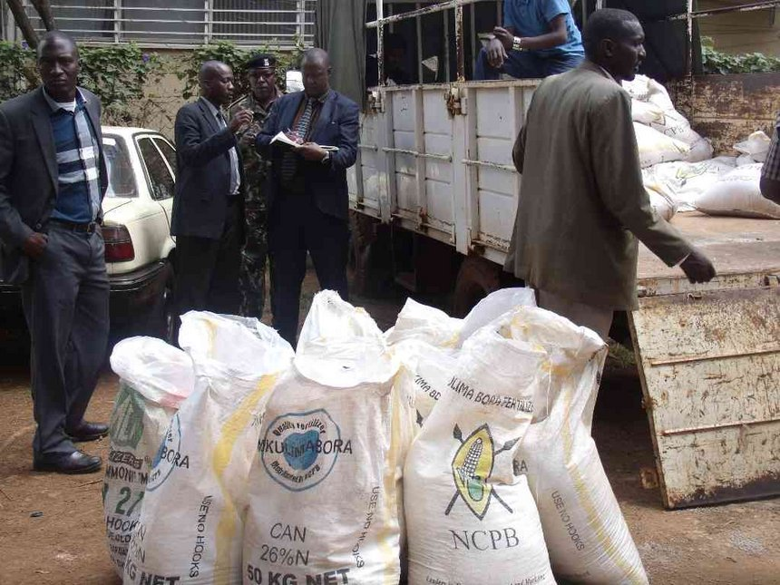 DCI intensies search for missing 40,000 bags of NCPB fertiliser
