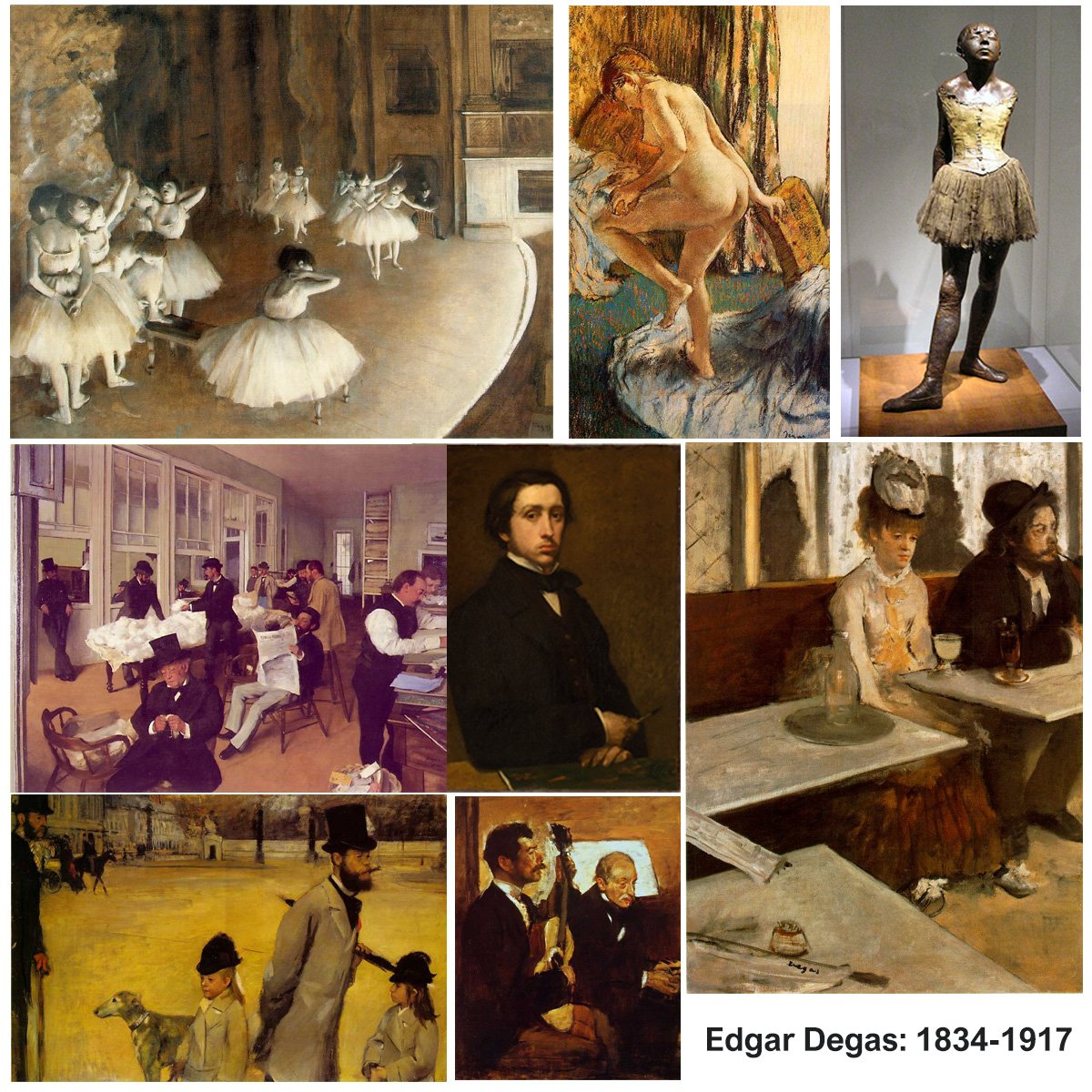 Happy Birthday #EdgarDegas,1834-1917 - learn about one of the  founders of #Impressionism. https://t.co/mMCsVTffEU https://t.co/vFytpa3lX1