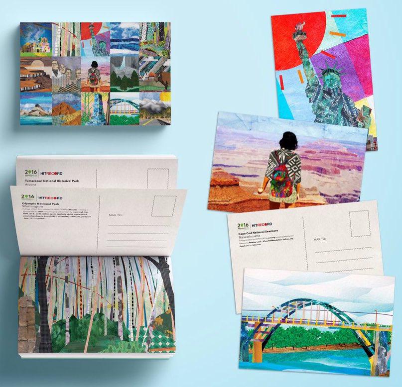 RT @CaptClare: .@hitRECord #FindYourPark Postcard Book - PRESALE!! ???????? These are gorgeous ????????????https://t.co/TV9RIc2Jy1 https://t.co/H7FqyQ86lc