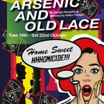 Date for your diary! The hilarious #Arsenic & Old Lace @trinitytheatre 18th - 22nd October https://t.co/hbhygMOHIi https://t.co/U8TRYaeluc