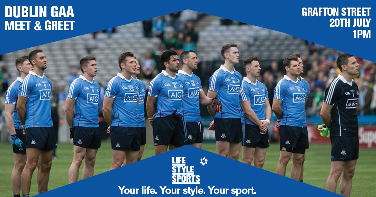 This time tomorrow, make sure you're in our Grafton St store, ready to meet the stars of Dublin #UpTheDubs #COYBIB https://t.co/PlADUuIsq3