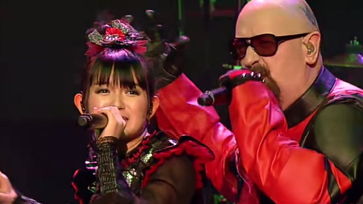 Watch @BABYMETAL_JAPAN perform live with @judaspriest's Rob Halford https;//t.co/Pc25OZZpoh https...