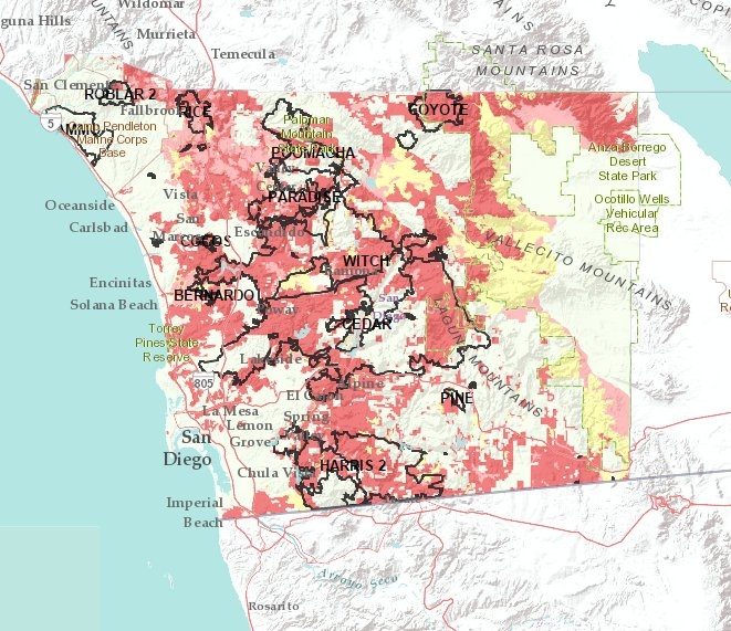 Do you know your wildfire hazard levels? Find out using this new tool the County developed: https://t.co/aLcE3TtRKF. https://t.co/75p1MaAjPK