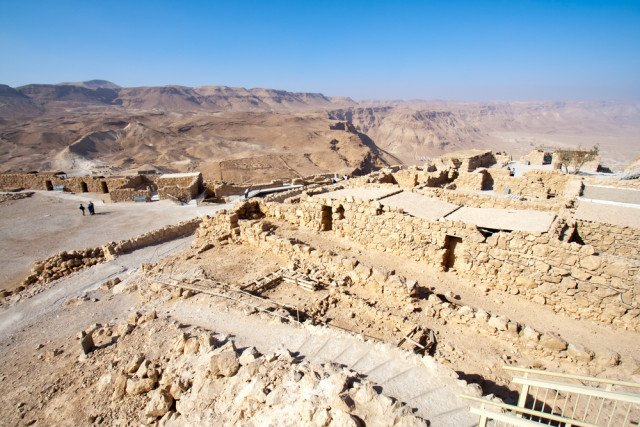 Conquering Israel's legendary stronghold of Masada: