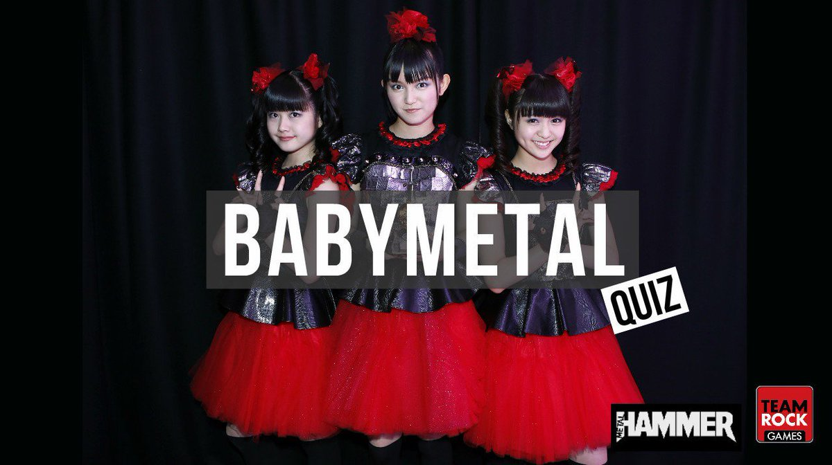 Take our @BABYMETAL_JAPAN quiz! https;//t.co/Gq39m9VX4D https;//t.co/haauoMgd1p