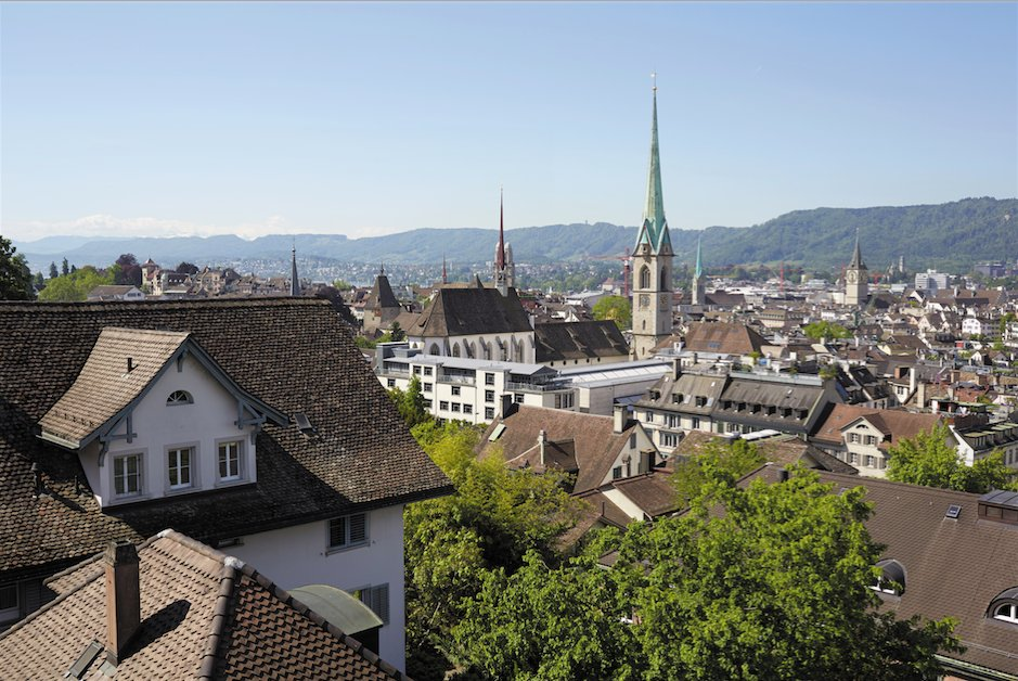 Zurich's Old Town transports you to another time, with its traditional architecture: