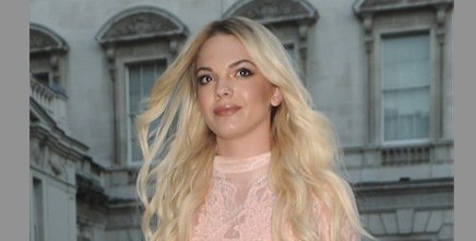 How gorgeous did X Factor's @louisa look last night? This sheer lace dress is everything!