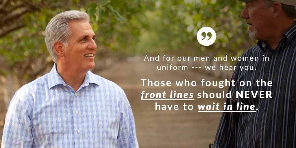 We need to do everything we can for our nation's vets. Those who served on the front lines should not wait in line. https://t.co/6R3y7Kz2Sw