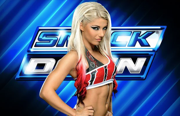 . @AlexaBliss_WWE  has been drafted to SmackDown #WWEDraft https://t.co/pzaSqcCTcL