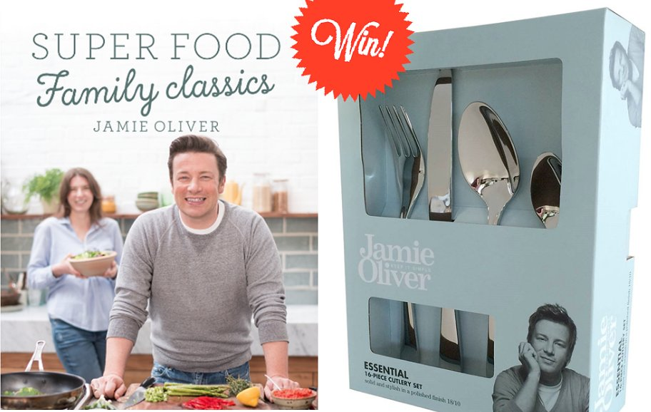 RT @TheHappyFoodie: Feeling lucky? Enter our competition to win @jamieoliver's #FamilySuperFood and cutlery! https://t.co/fQGG9OTfNB https:…