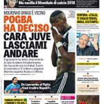 Pogba has decided.Dear Juve let me go Pogba returns to MCR for €125m Raiola brings offer, Pogba asks to leave https://t.co/QObDkM9bwa