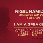 Nigel Hamilton brings us a talk about a lean #startup engine written in #Perl https://t.co/DVLtkjppFg #yapceu2016 https://t.co/NgUFgPUVzU