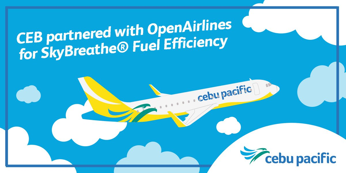 With SkyBreathe®, we reduce our carbon emissions so everyJuan can enjoy our lowest fares!