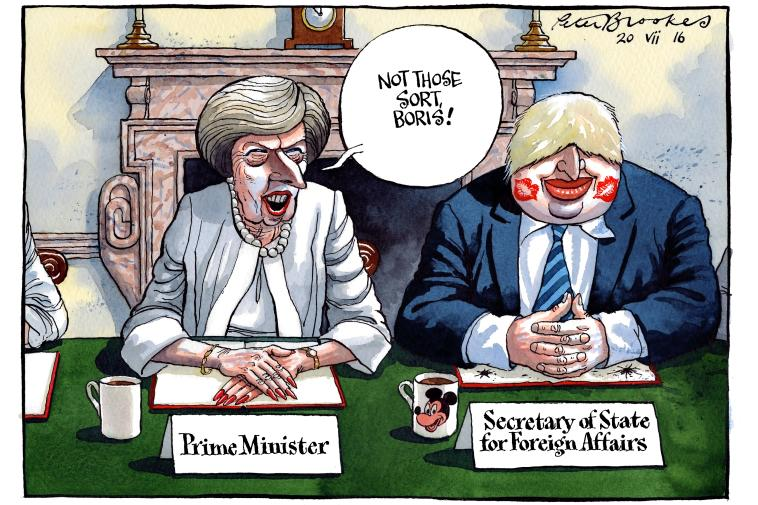 My Cartoon Wednesday Thetimes New Cabinet Gets Down To