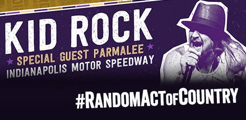 Want to see Kid Rock with special guest Parmalee on Saturday? RT for a chance to win a pair of tickets! *Ends @ 11am https://t.co/GodsPQB0ep