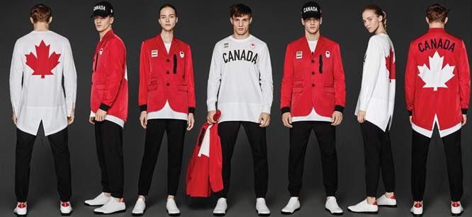 リオ五輪のカナダ選手団のユニフォームがめちゃめちゃカッコいいと思ったら、DSQUARED2のデザインだそうで。 https://t.co/0scbikkLWx