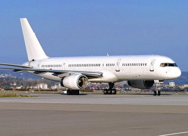What was that mysterious white plane flying in and out of Syracuse airport?