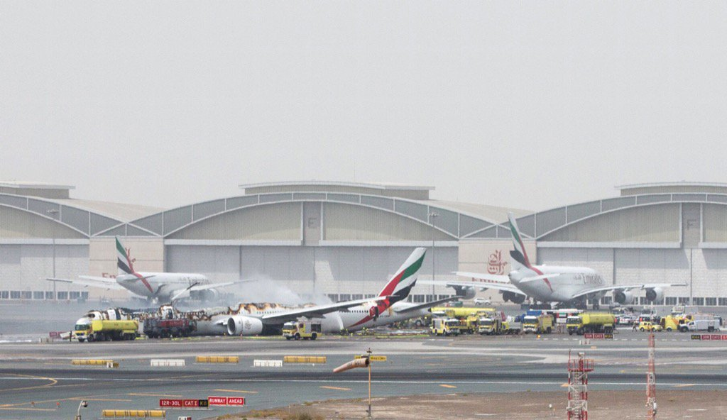 After Dubai Plane Crash, A History Of Emirates Airline Accidents