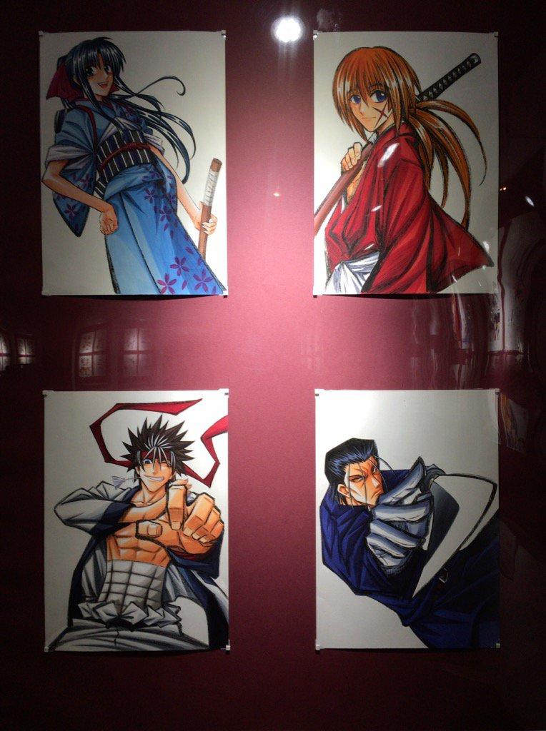 長岡市の長谷川邸。るろうに剣心、和月伸宏さんの里帰り原画展ですが、まさか撮影可とは。 https://t.co/JS3Ej8hkXY