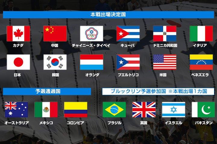 「2017 WORLD BASEBALL CLASSIC™」の開催が決定!1次ラウンドの東京プールと…