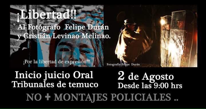 Libertad para #FelipeDuran, pres
