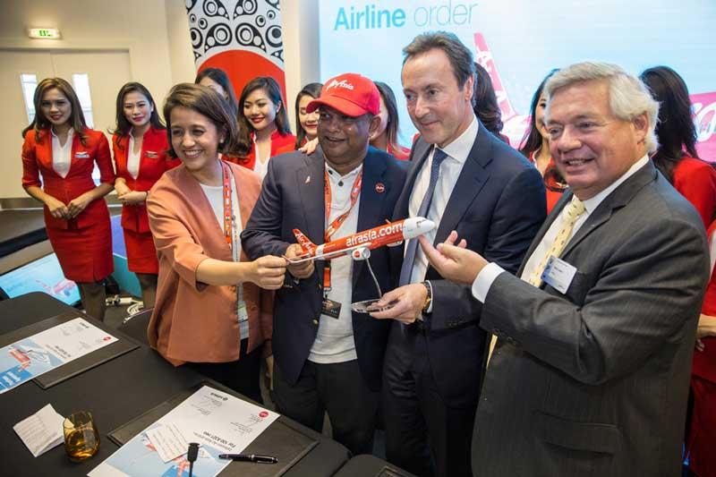 AirAsia Memesan 100 Pesawat Airbus A321neo simak di sini