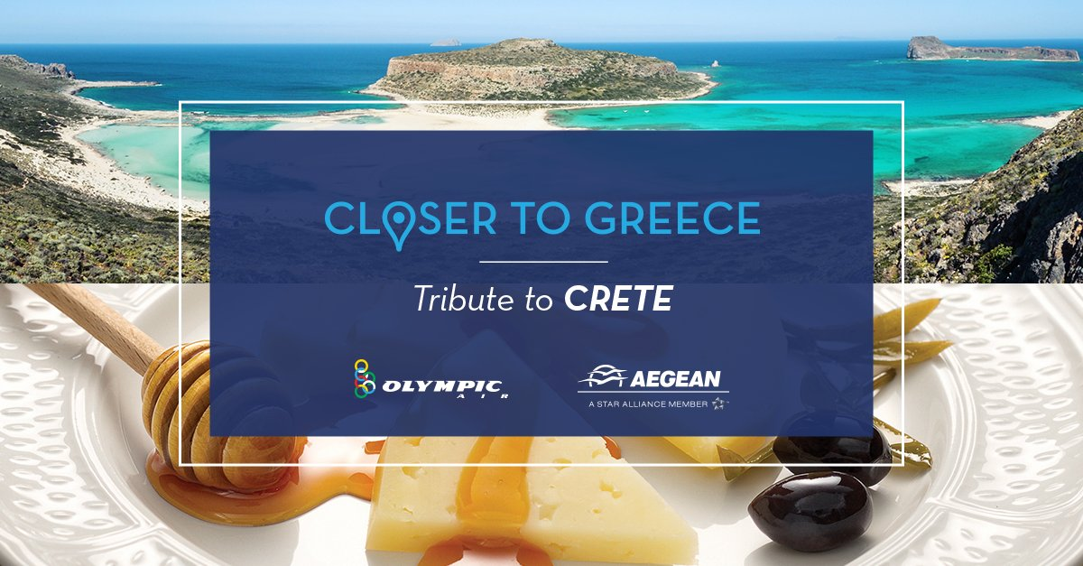 We are dedicating August to Crete,the largest island of Greece. Read more at CloserΤoGreece