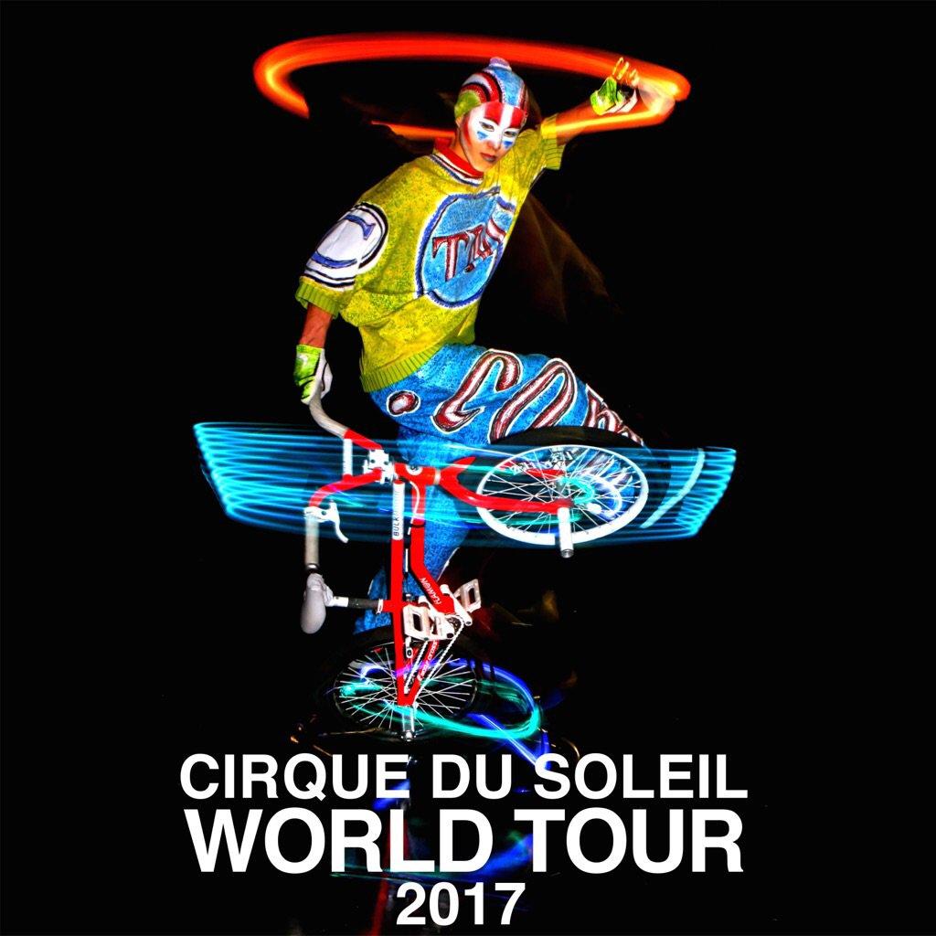 ◆RT希望・シルクドゥソレイユ世界ツアー×BMX◆ BMXライダー池田貴広が『Cirque du Soleil』の『新作ワールドツアーショー』に2017年4月より出演決定!  概要 https://t.co/kh4GBApH0A https://t.co/3wf4IvXEIs