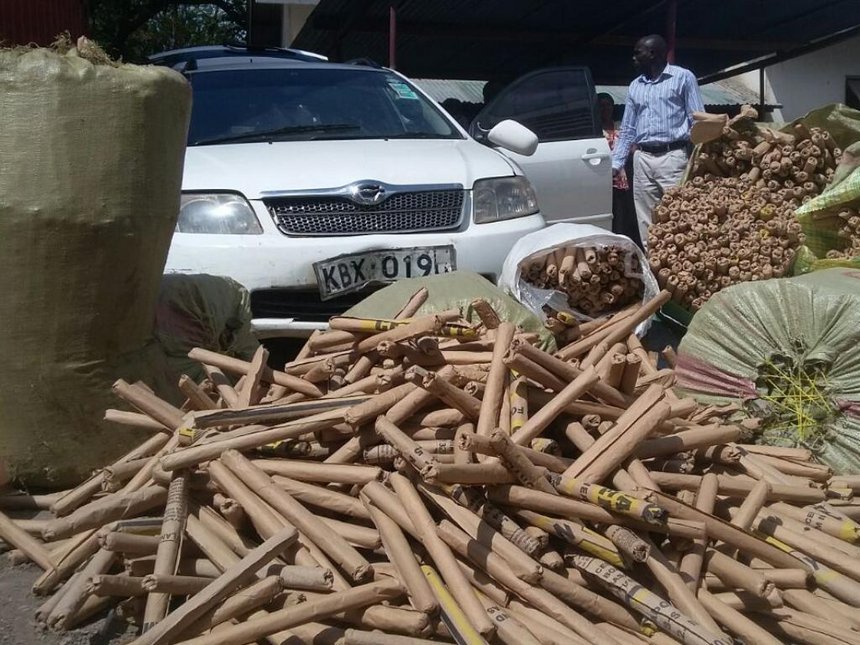 Man arrested, two sacks of bhang seized in Mwingi
