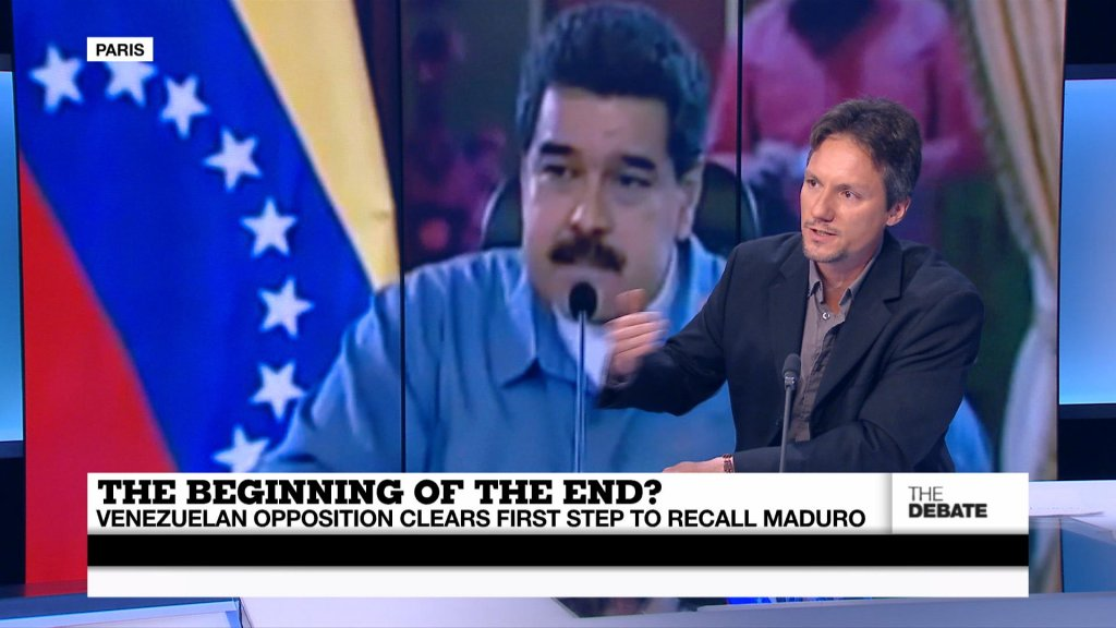 THE DEBATE - The beginning of the end? Venezuela's opposition one step closer to recall of…