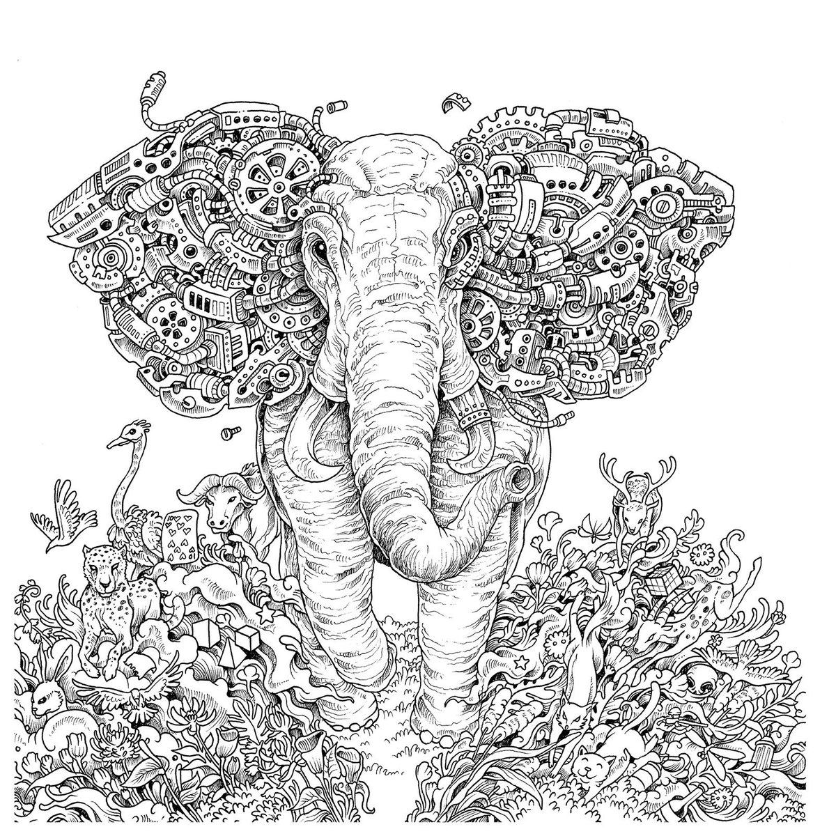 We're celebrating #NationalColoringBookDay! RT to #win a selection of our favs from @Kerby_Rosanes IMAGIMORPHIA! https://t.co/gSUajfi01G