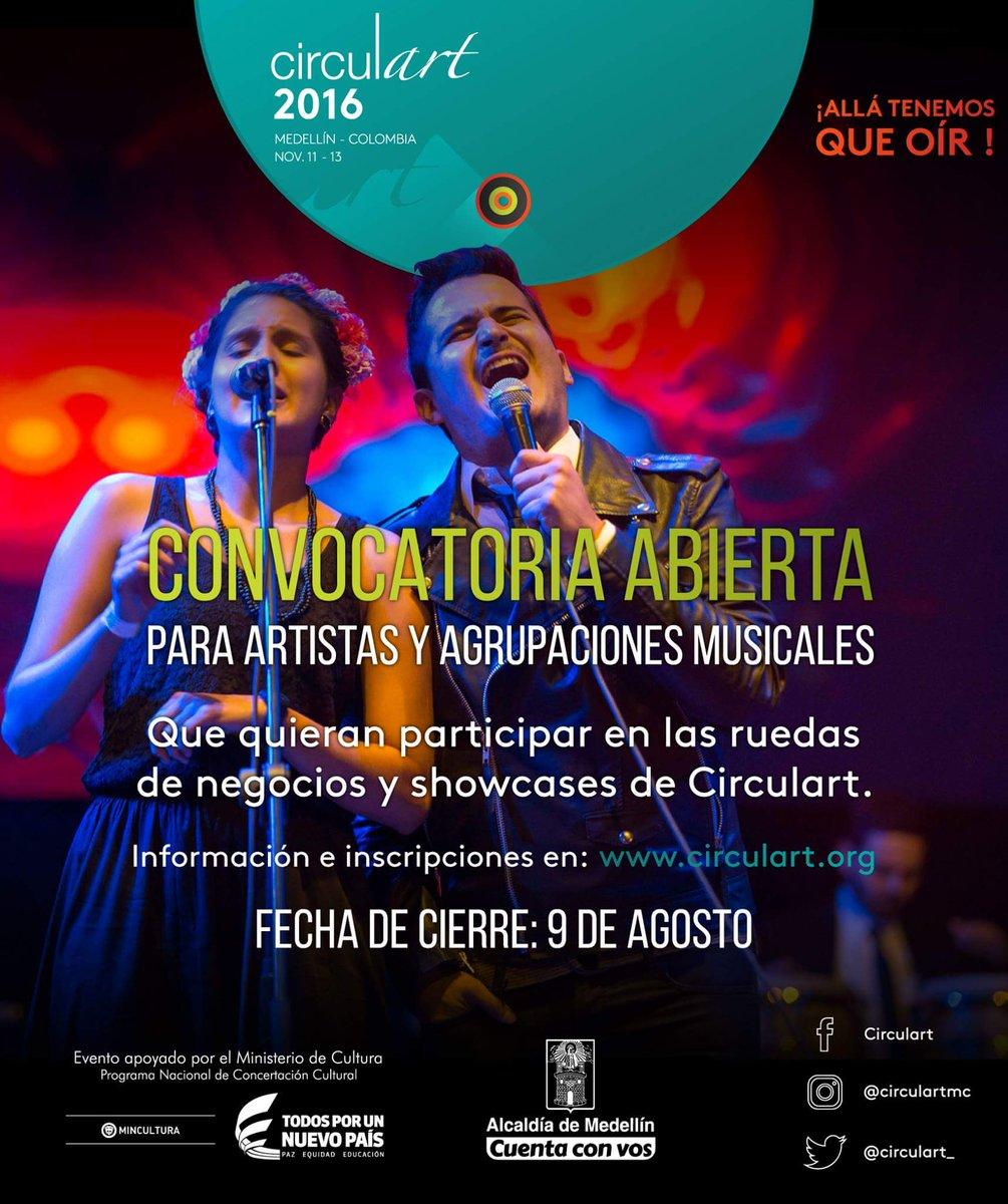 Artistas de Latinoamerica, faltan 8 días para que cierra la #convocatoria Inscripciones-> https://t.co/4QKBNnzNGf https://t.co/llFZDNDjWB