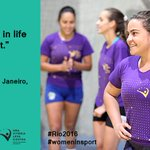 RT @UN_Women: Our project with @Olympics  @Women_Win  @bolaprafrente to empower through sport reaches girls like Júlia #Rio2016 https://t.c…