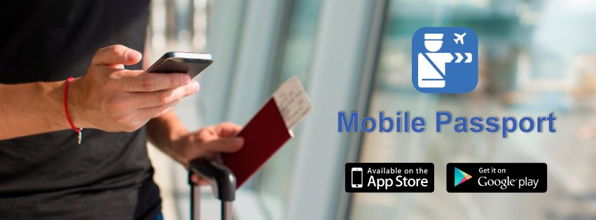 Expedite customs processing with @mobpassport.  iPhone: