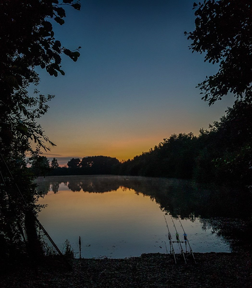 Got to love a sunrise @Castaway_PVA social at linear #carpfishing #sunrise #onthebank #DNABaits #DBP