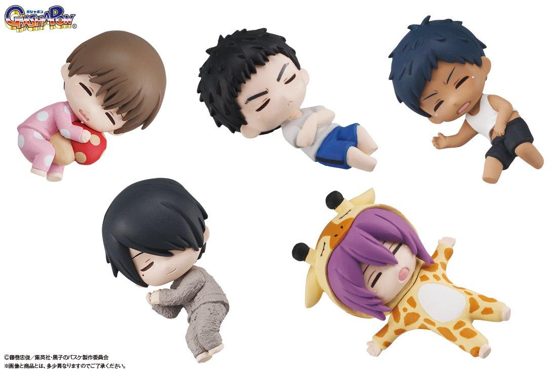 【バンダイ】8月下旬より「ぐっすりおやすみ★黒子のバスケ」シリーズ第2弾が登場!居眠り姿に個性が出て…