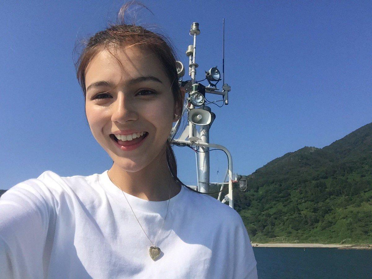 男鹿半島な絶景を船から☁️💕 スーパービューティフォーだった👀 船乗りせれそら⚓️
